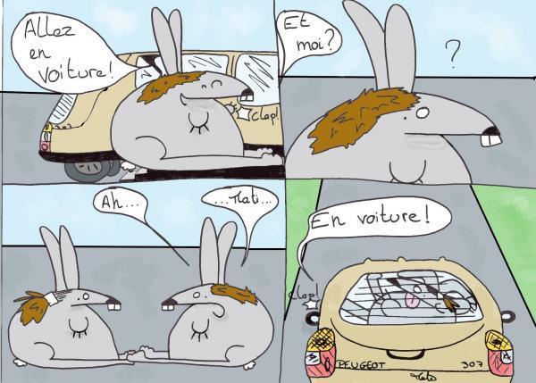 Djordj - Les aventures de Djordj et ses collègues - En voiture, Simone ! (bis)