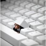 vie privée clavier ordinateur