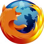 vie privée - Firefox logo