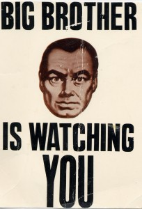 vie privée Big brother is watching you