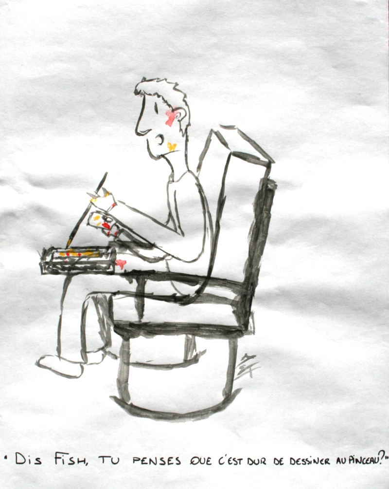 Matt Marcha - Dessins - Vrac - Pinceau