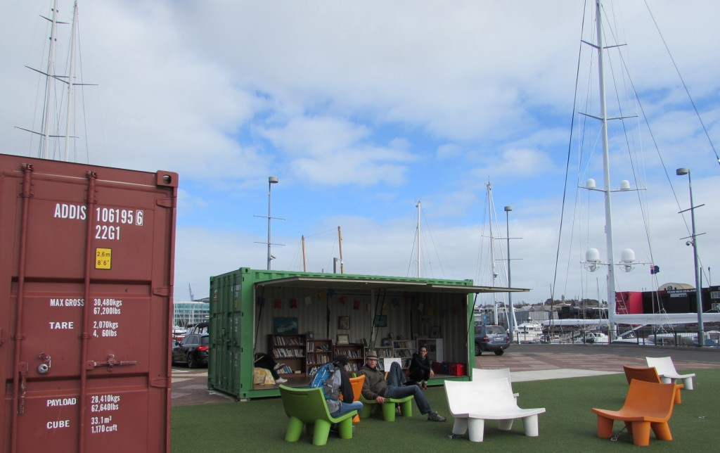 Bibliotheque port - visite d'Auckland