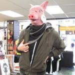 Tête de porc magasin - visite d'Auckland