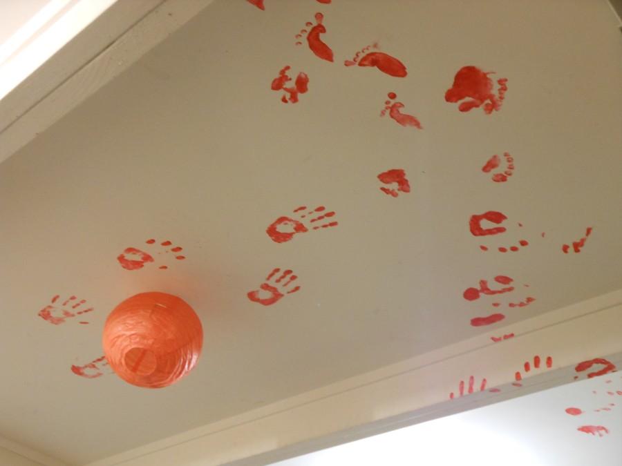Plafond du salon de la coloc - Auckland